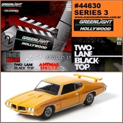 GL HOLLYWOOD  3 - G.T.O.S Pontiac GTO - Greenlight - 1/64
