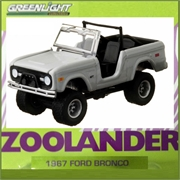 GL HOLLYWOOD  6 - 1967 Ford Bronco Zoolander - Greenlight - 1/64