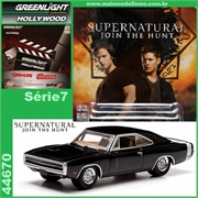 GL HOLLYWOOD  7 - 1970 Dodge Charger SUPERNATURAL - Greenlight - 1/64
