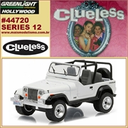 GL HOLLYWOOD 12 - 1994 Jeep Wrangler YJ - Greenlight - 1/64