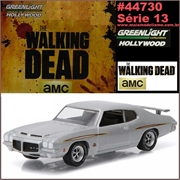 GL HOLLYWOOD 13 - 1971 Pontiac GTO Judge - Greenlight - 1/64