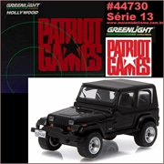GL HOLLYWOOD 13 - 1987 Jeep WRANGLER YJ - Greenlight - 1/64
