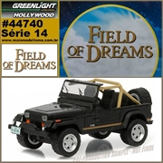 GL HOLLYWOOD 14 - 1987 Jeep Wrangler YJ - Greenlight - 1/64