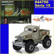 GL HOLLYWOOD 15 - 1941 Military 1/2 TON 4x4 - Greenlight - 1/64