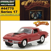GL HOLLYWOOD 17 - 1967 Chevrolet Corvette - Greenlight - 1/64