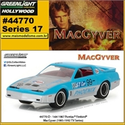 GL HOLLYWOOD 17 - 1987 Pontiac Firebird - Greenlight - 1/64