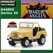 GL HOLLYWOOD 20 - Julie Rogers 1980 Jeep CJ-5 - Greenlight - 1/64