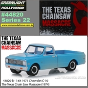 GL HOLLYWOOD 22 - 1971 Chevrolet C-10 Pickup - Greenlight - 1/64