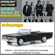 GL HOLLYWOOD 22 - 1965 Lincoln Continental - Greenlight - 1/64