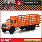 2017 - INTERNATIONAL WorkStar Platform/Stake Laranja - Greenlight - 1/64