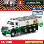 2017 - INTERNATIONAL WorkStar Tanque PENNZOIL - Greenlight - 1/64
