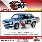1972 - Bre Datsun 510 n.85 - Greenlight - 1/64