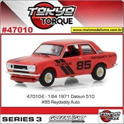 1971 - Raydaddy Auto Datsun 510 n.85 - Greenlight - 1/64