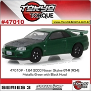 2000 - Nissan Skyline GT-R (BNR34) - Greenlight - 1/64