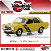 1972 - Datsun 510 - Greenlight - 1/64
