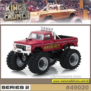 1973 - Ford F-250 KRIMSON KRUSHER Pickup - Greenlight - 1/64