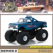 1972 - Chevrolet K-10 EXTERMINATOR Pickup - Greenlight - 1/64