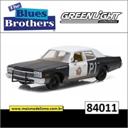 1974 - Dodge Monaco Bluesmobile - Greenlight - 1/24