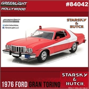 1976 - Ford Gran Torino - STARSKY e HUTCH - Greenlight - 1/24