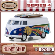 1971 - VW Kombi with Surfboards - Greenlight - 1/64