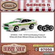 1978 - Ford Mustang II Cobra II with Spare Tires - Greenlight - 1/64