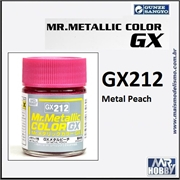 Tinta Gunze  Mr Metallic Color GX-212 Metal Peach - 18ml