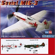 MIG- 3 Soviet Fighter - Hobby Boss - 1/72