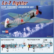 Lavochkin LA-7 SOVIET Fighter - Hobby Boss - 1/72