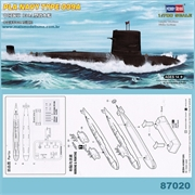 Submarino PLA NAVY TYPE 039A - Hobby Boss - 1/700