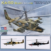 Helicóptero KA-50 BLACK SHARK - Hobby Boss - 1/72