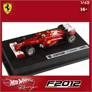 2012 - FERRARI F2012 FELIPE MASSA - Hot Wheels - 1/43