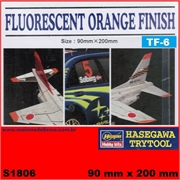 FLUORESCENT ORANGE FINISH TF-06 - Hasegawa Trytool