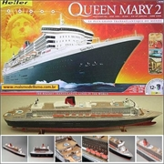 Queen Mary 2 - Model-Set Heller - 1/600