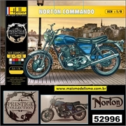 Moto Norton Commando 750 Roadster - Kit Complete Heller - 1/8