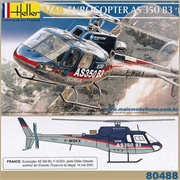 Helicóptero EUROCOPTER AS 350 B3 Everest - Heller - 1/48