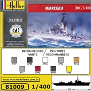 Destroyer MARCEAU - Heller - 1/400