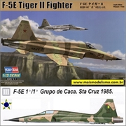 F- 5E TIGER II Fighter (FAB) - Hobby Boss - 1/72