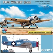 F 4F-3 Wildcat (Late) - Hobby Boss - 1/48