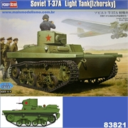 Soviet T-37 Light Tank (Izhorsky) - Hobby Boss - 1/35