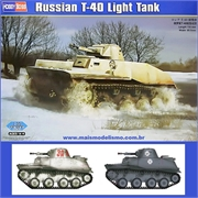 Russian T-40 Light Tank - Hobby Boss - 1/35