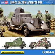 Soviet BA-20M Armored Car - Hobby Boss - 1/35