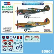 P-40M Kitty Hawk - Hobby Boss - 1/48