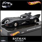 BATMÓVEL 1989 - Batman Returns - Hot Wheels - 1/24