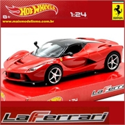 Ferrari LaFERRARI Vermelha - Hot Wheels - 1/24