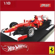 F1 - FERRARI F10 BAHRAIN Felipe Massa - Hot Wheels - 1/18