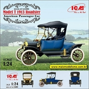 1913 - Ford Model T Roadster - ICM - 1/24