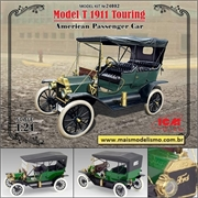1911 - Ford Model T Touring - ICM - 1/24