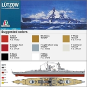 German Cruiser LÜTZOW - Italeri - 1/720