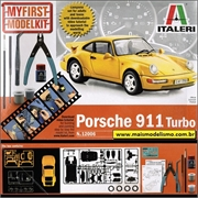 Porsche 911 Turbo - Model Kit Italeri - 1/24