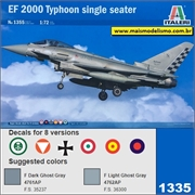 Eurofighter EF 2000 Typhoon Single Seater - Italeri - 1/72